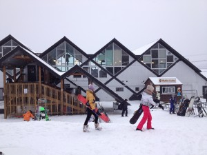 Day lodge at Killington