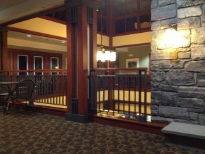 Commons area at Killington Grand Hotel