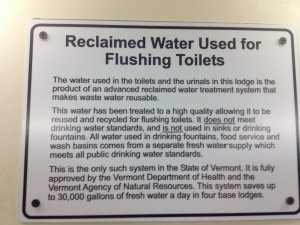 Killington reclaims water