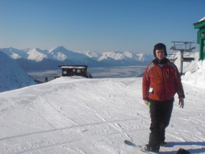 Views of Prince William Sound are available from the top of chair 6 and elsewhere.