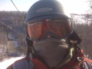 A neck gaiter can make all the difference on a cold day.